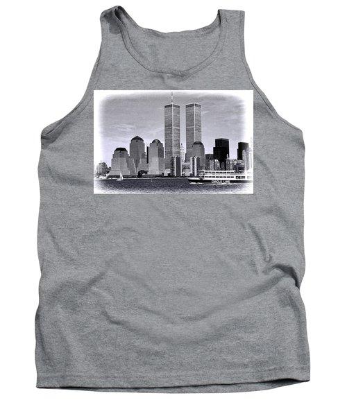 World Trade Center 3 Tank Top
