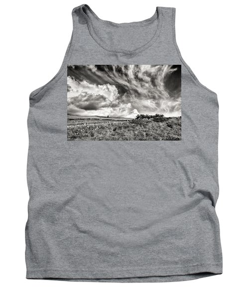 Written In The Wind Tank Top by William Beuther