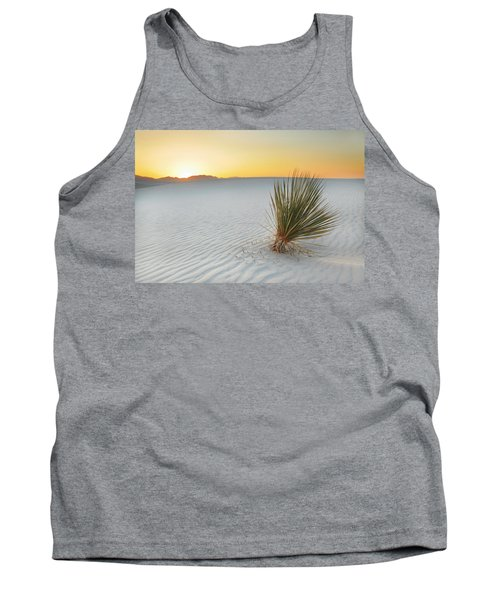 Yucca Plant At White Sands Tank Top by Alan Vance Ley