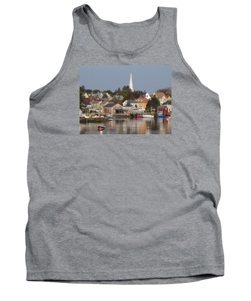 New Castle Harbor Nh Tank Top