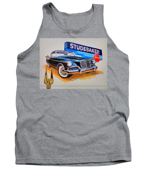 1957 Studebaker Golden Hawk Tank Top