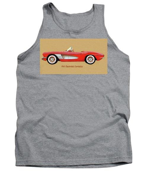 1961 Chevrolet Corvette Tank Top