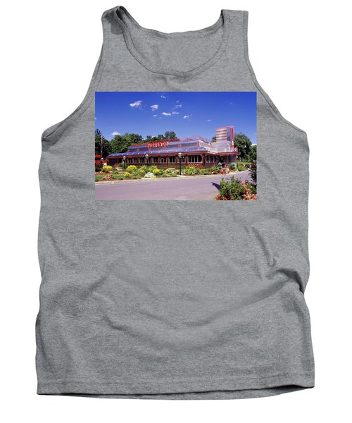 1990s Classic Art Deco Style Diner Hyde Tank Top