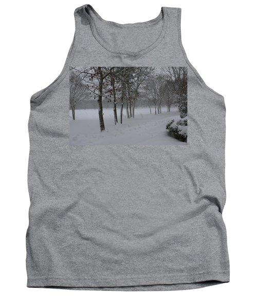 Tank Top featuring the photograph 2 2014 Winter Of The Snow by Paul SEQUENCE Ferguson             sequence dot net