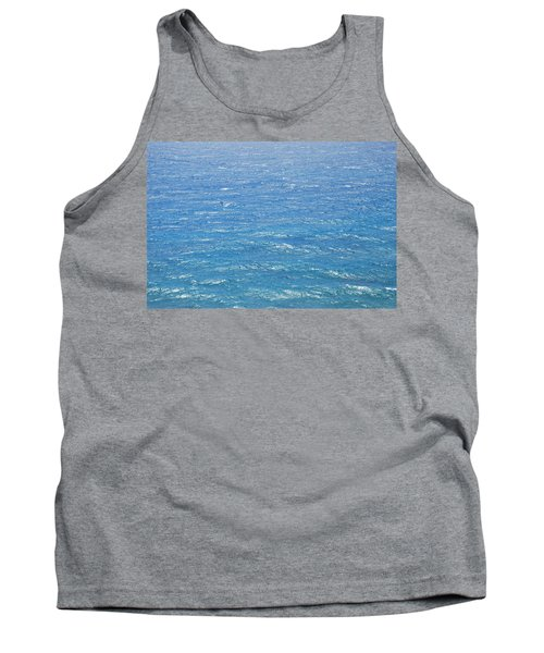 Tank Top featuring the photograph Blue Waters by George Katechis