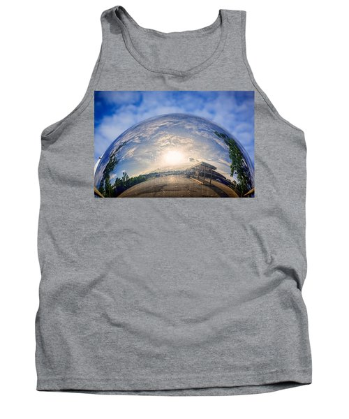 Distorted Reflection Tank Top by Sennie Pierson