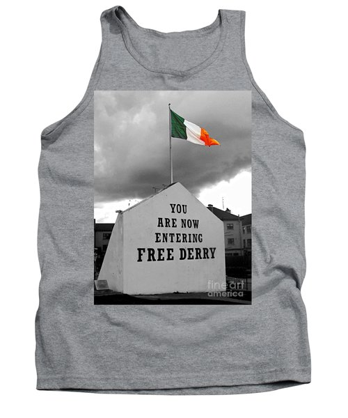Free Derry Wall 1 Tank Top