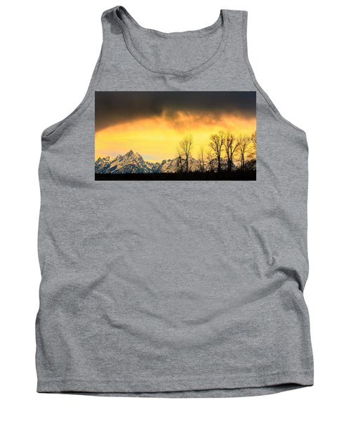 Tank Top featuring the photograph Grand Tetons Wyoming by Amanda Stadther