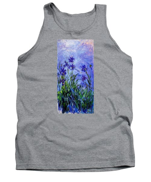Irises Tank Top by Celestial Images