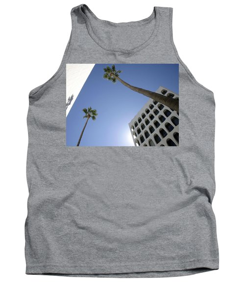 Tank Top featuring the photograph Looking Up In Beverly Hills by Cora Wandel