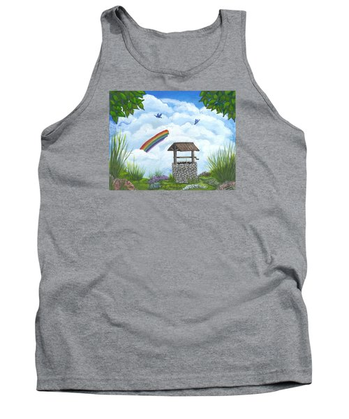 My Wishing Place Tank Top by Sheri Keith