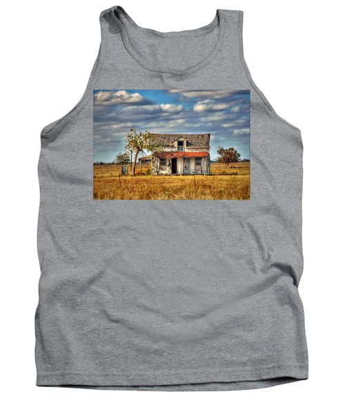 Tank Top featuring the photograph Old Home by Savannah Gibbs