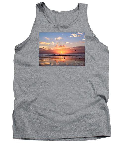 Painted Sky Tank Top by LeeAnn Kendall