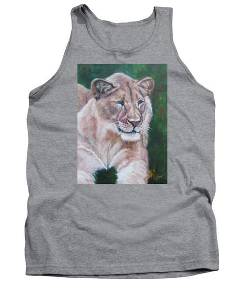 Queen Of The Beast,lioness Tank Top