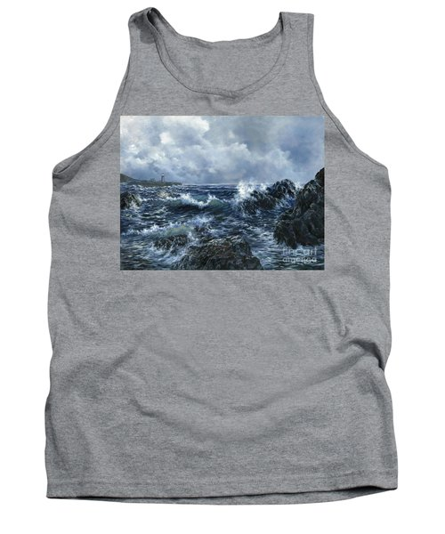 Tank Top featuring the painting Sailor's Light by Lynne Wright