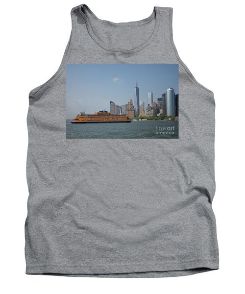 Staten Island Ferry Tank Top by Carol Ailles