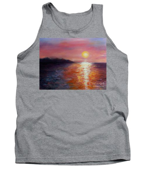 Sunset In Ixtapa Tank Top
