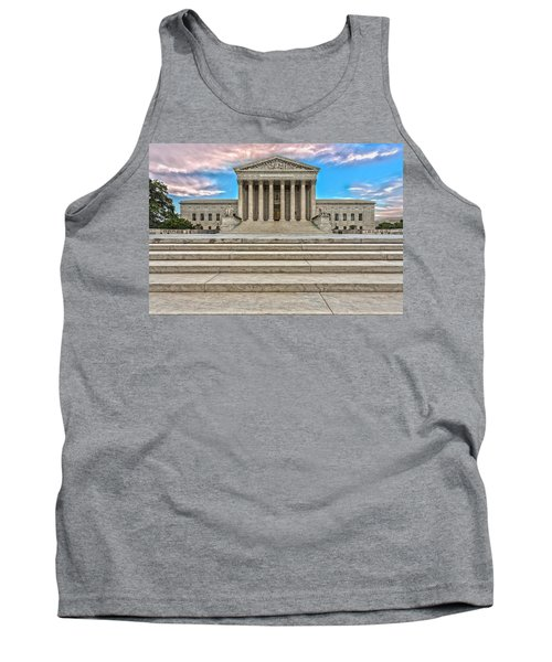 Tank Top featuring the photograph Supreme Court by Peter Lakomy