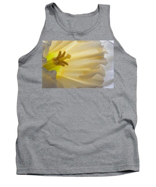 White Daffodil  Tank Top