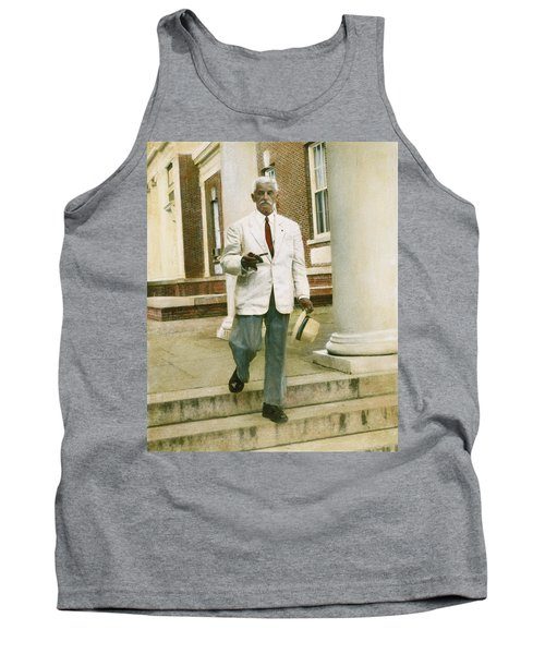 Tank Top featuring the photograph William Faulkner (1897-1962) by Granger