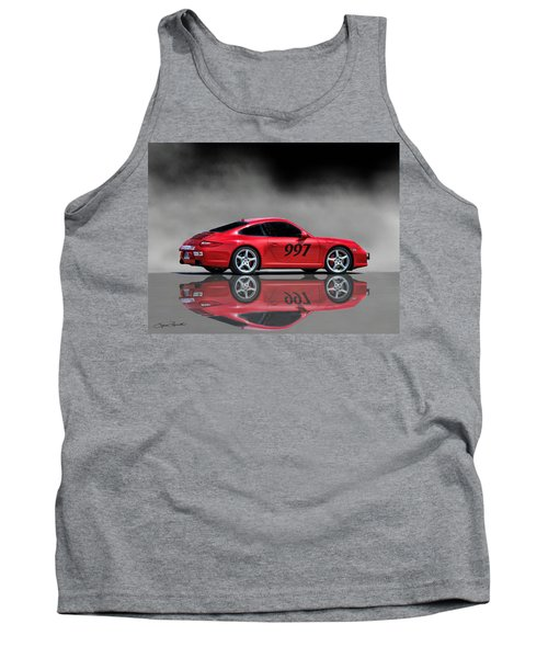 2009 Porsche Carrera Tank Top