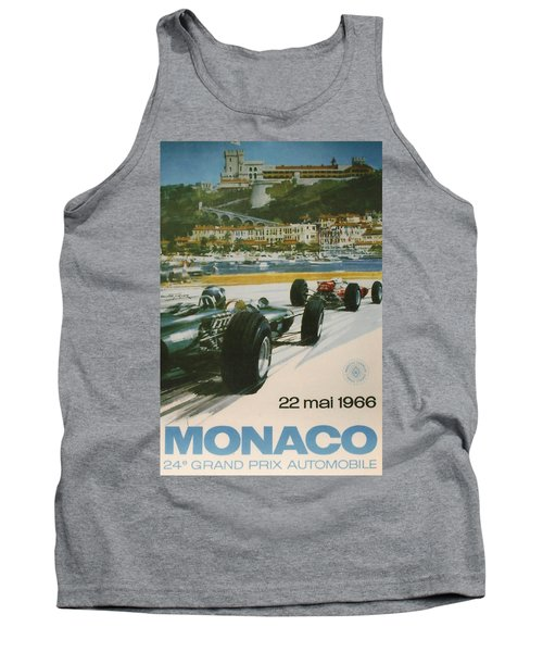 24th Monaco Grand Prix 1966 Tank Top