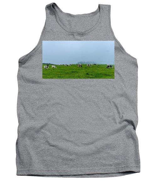 Cows In The Field Tank Top