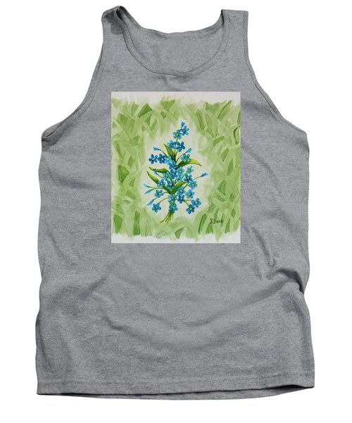 For-get-me-nots Tank Top