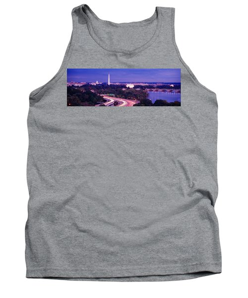 High Angle View Of A Cityscape Tank Top