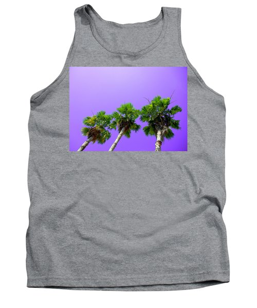 3 Palms Tank Top by J Anthony