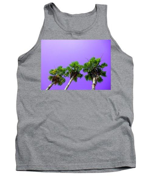 3 Palms Tank Top