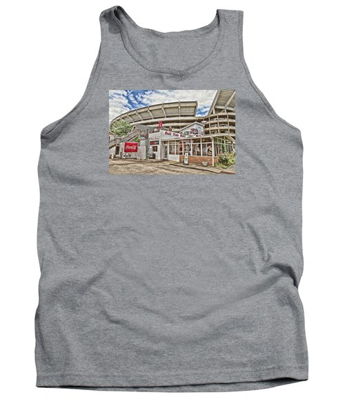 In The Shadow Of The Stadium - Hdr Tank Top