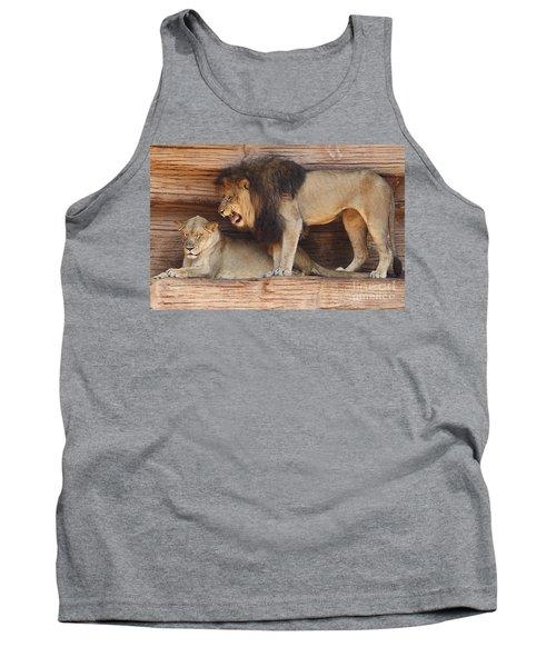 The Feline Honeymooners Tank Top