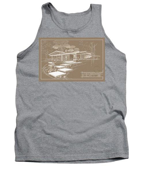 301 Cypress Drive - Sepia Tank Top
