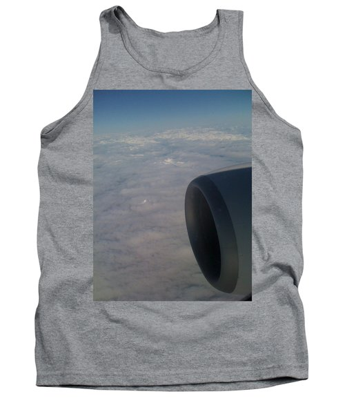 33000 Feet Tank Top by Mark Alan Perry
