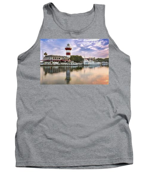 Lighthouse On Hilton Head Island Tank Top
