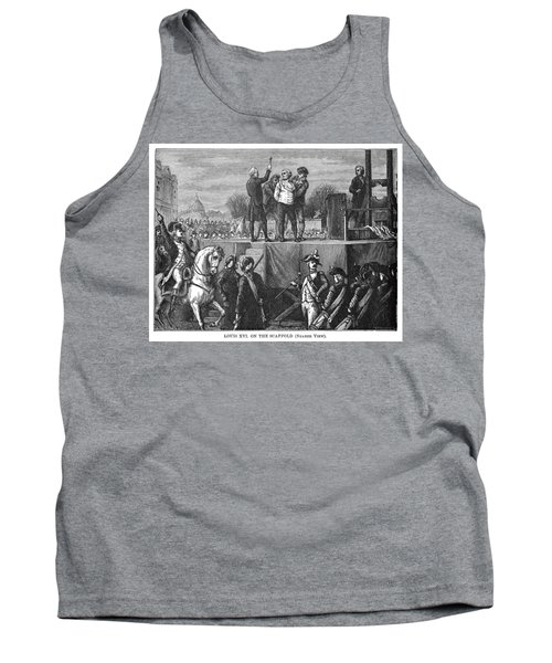 Louis Xvi Execution, 1793 Tank Top