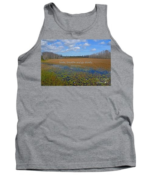 69- Thich Nhat Hanh Tank Top by Joseph Keane