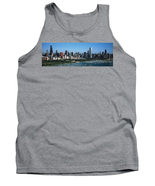 Aerial View Of Buildings In A City Tank Top