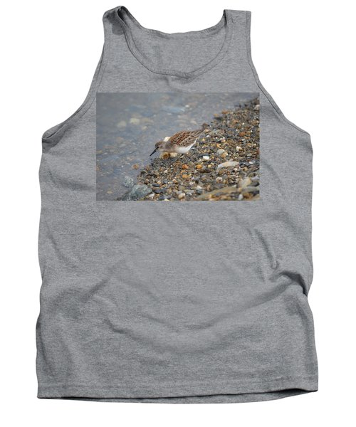 Tank Top featuring the photograph Semipalmated Sandpiper by James Petersen
