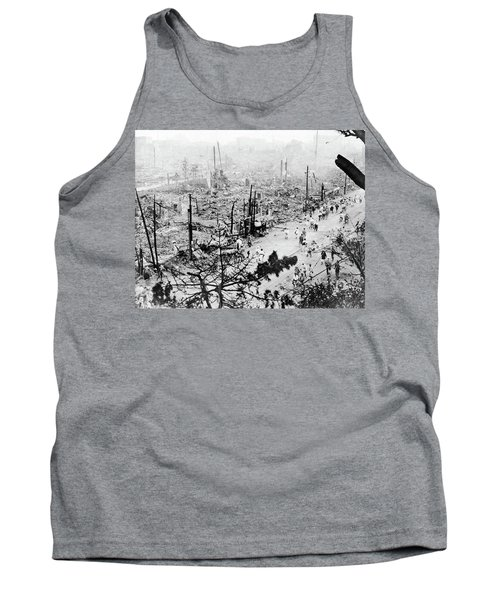 Tank Top featuring the photograph Tokyo Earthquake, 1923 by Granger