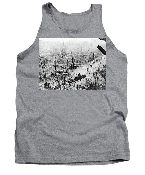 Tokyo Earthquake, 1923 Tank Top by Granger