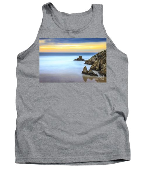 Campelo Beach Galicia Spain Tank Top by Pablo Avanzini