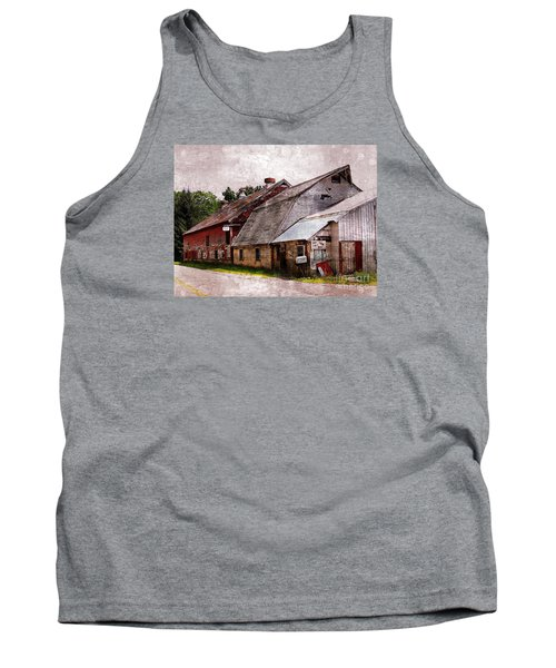 A Barn With Many Purposes Tank Top by Marcia Lee Jones