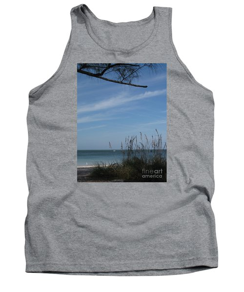 A Beautiful Day At A Florida Beach Tank Top by Christiane Schulze Art And Photography