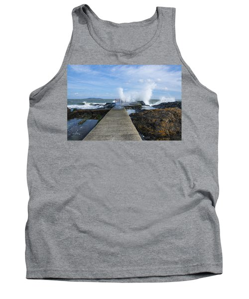 A Blustery Day At High Rock Tank Top