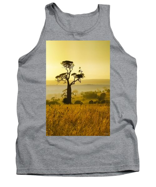 A Boab Sunrise Tank Top by Holly Kempe