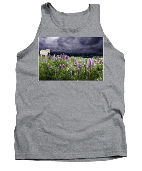 A Childs Dream Among Lupine Tank Top