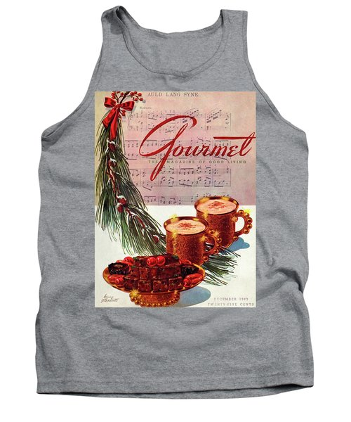 A Christmas Gourmet Cover Tank Top