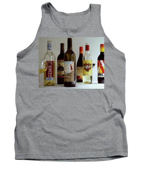A Collection Of Wine Bottles Tank Top